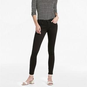 Lucky Brand Size 24 Charlie Black Skinny Jeans